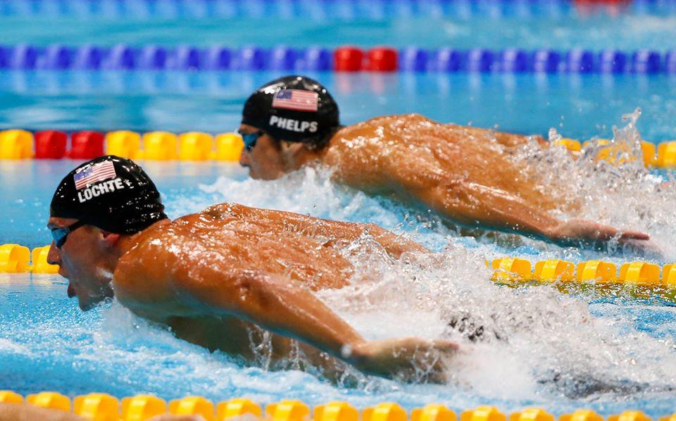 Phelps vs Lochte